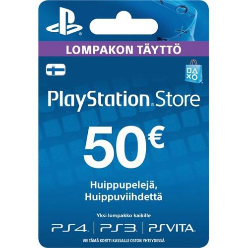 PSN kood - 50€