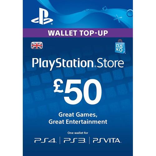 PSN kood - £50