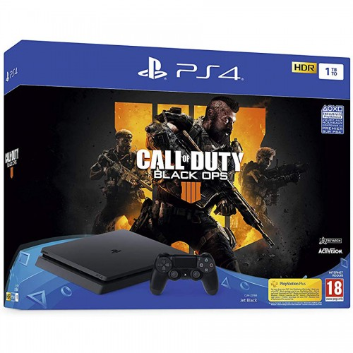 PS4 1TB + Call Of Duty Black Ops 4