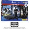 PS4 + 3 mängu