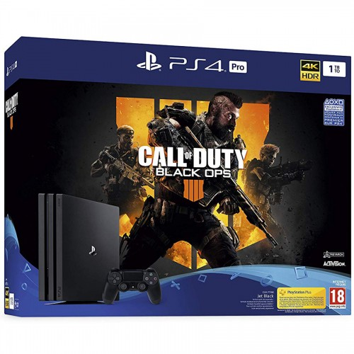 PS4 Pro + Call Of Duty Black Ops 4