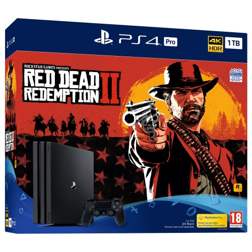 PS4 Pro + Red Dead Redemption 2