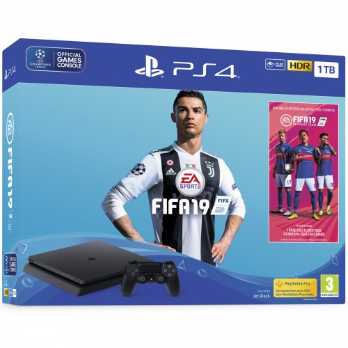 PS4 1TB + FIFA 19