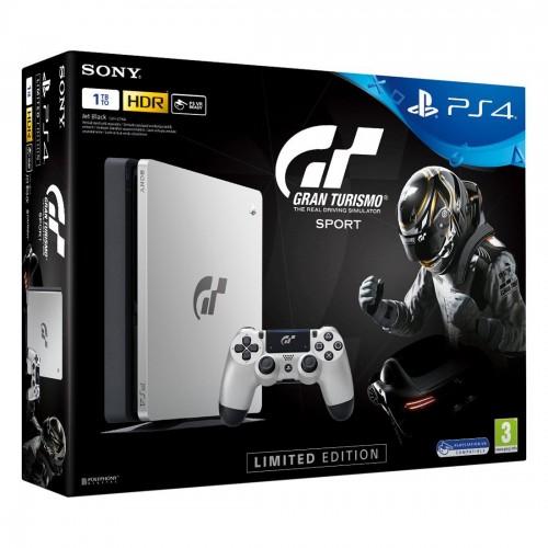 PS4 Slim 1TB - Gran Turismo Sport Edition