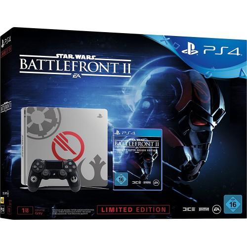 PS4 Slim 1TB + Star Wars Battlefront II Elite Trooper Deluxe Edition