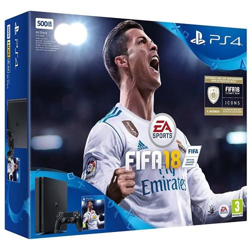 PS4 Slim + FIFA 18