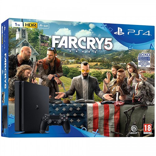 PS4 Slim 1TB + Far Cry 5