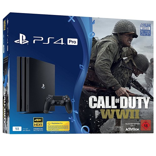 PS4 Pro + Call of Duty: WWII