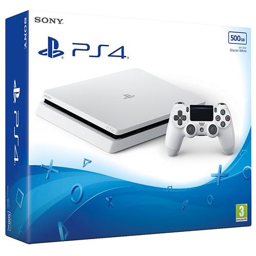 PS4 Slim - VALGE