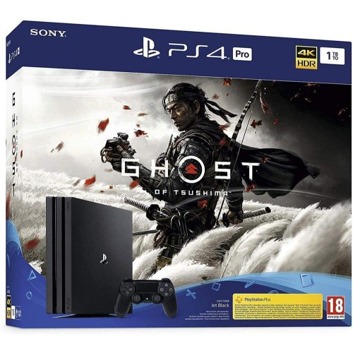 PS4 Pro + Ghost Of Tsushima