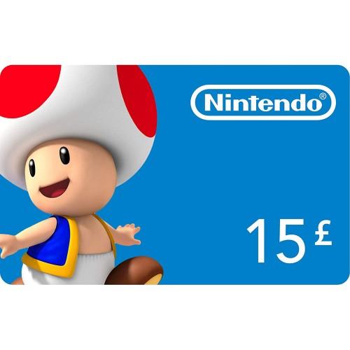 Nintendo eShop 15£