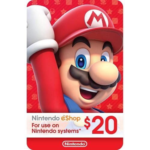 Nintendo eShop 20$