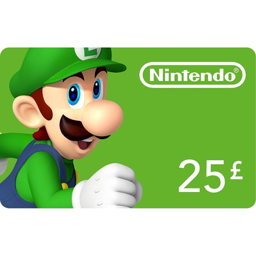 Nintendo eShop 25£