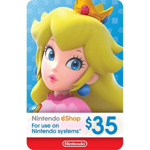 Nintendo eShop 35$