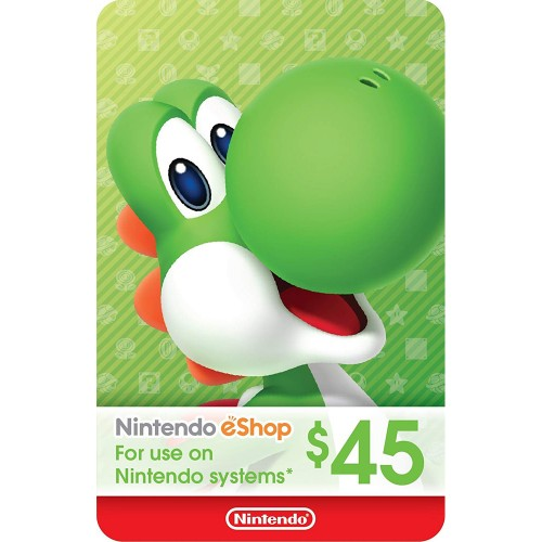 Nintendo eShop 45$