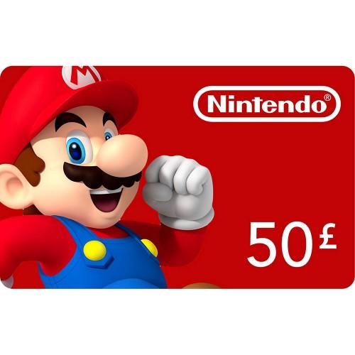 Nintendo eShop 50£
