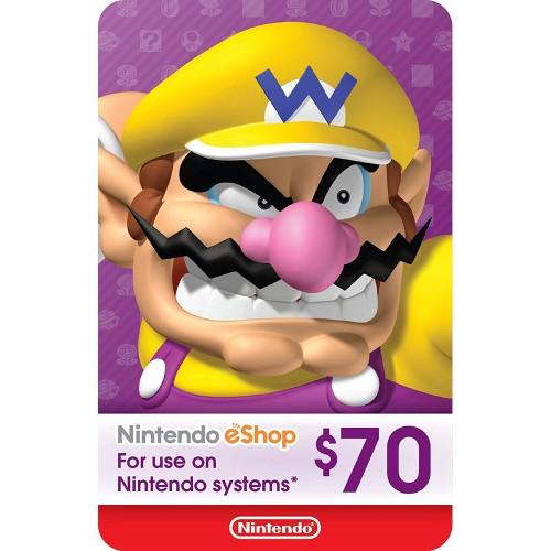 Nintendo eShop 70$