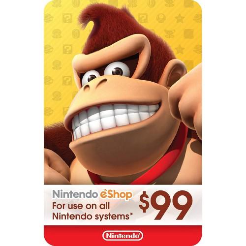 Nintendo eShop 99$