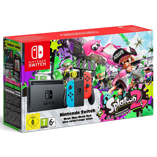 Nintendo Switch - Splatoon 2 bundle