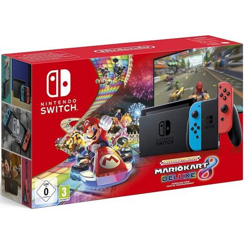 Switch + Mario Kart 8 Deluxe