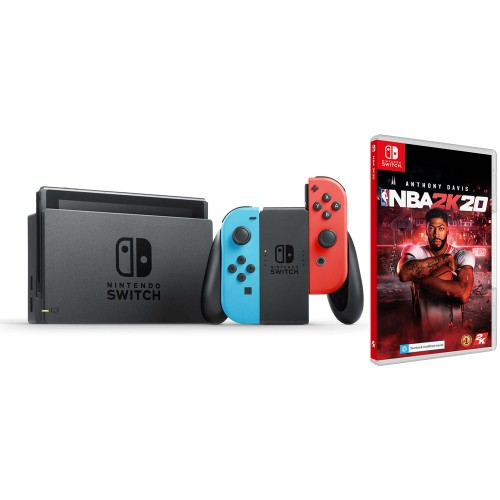 Nintendo Switch + NBA 2K20
