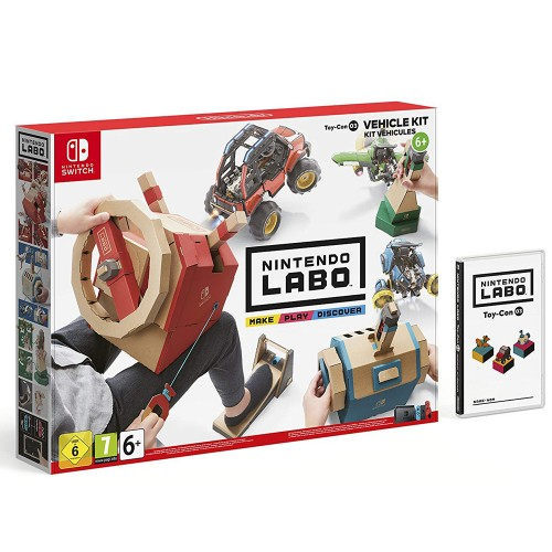 Nintendo Labo - Toy-Con 03: Vehicle Kit