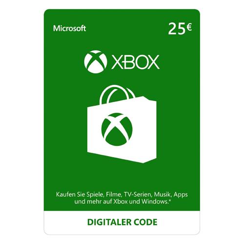 Xbox Live - 25€ - EU