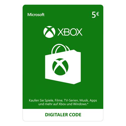 Xbox Live - 5€ - EU