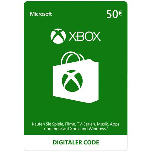 Xbox Live - 50€ - EU