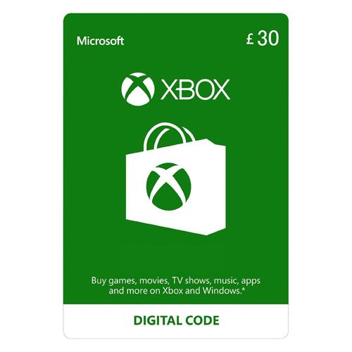 Xbox Live - 30£ - UK
