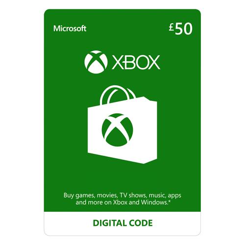 Xbox Live - 50£ - UK