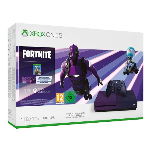 Xbox One S 1TB + Fortnite Special Edition