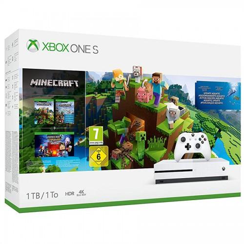 Xbox One S 1TB - Minecraft