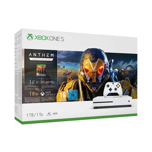 Xbox One S 1TB + Anthem