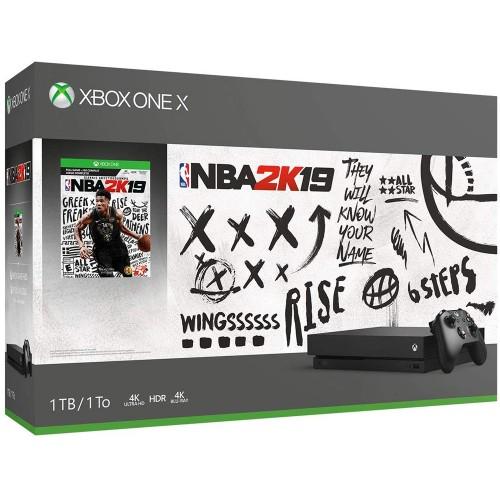 Xbox One X + NBA 2K19