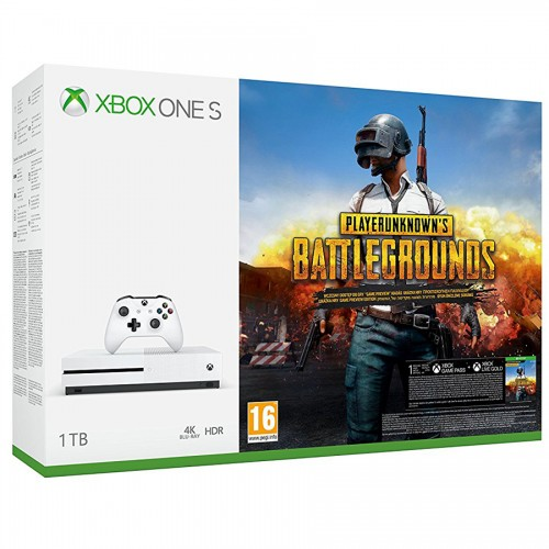Xbox One S 1TB + Playerunknown's Battlegrounds