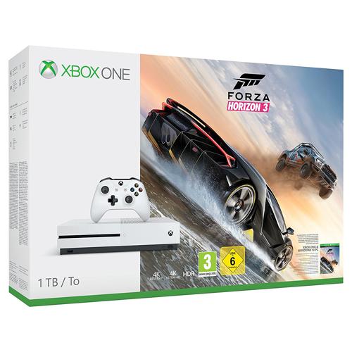 Xbox One S 1TB + Forza Horizon 3 + Hot Wheels