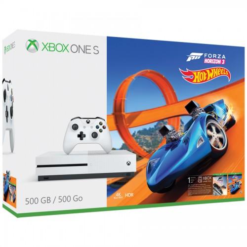 Xbox One S + Forza Horizon 3 Hot Wheels Bundle